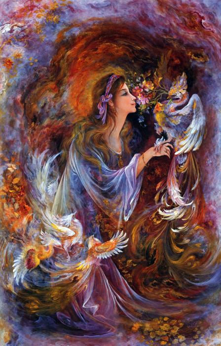 Чарующий аромат, 2000 год. Автор: Mahmoud Farshchian.