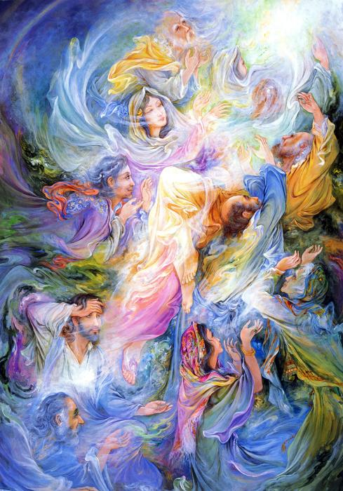 Лёгкая благодарность, 2002 год. Автор: Mahmoud Farshchian.