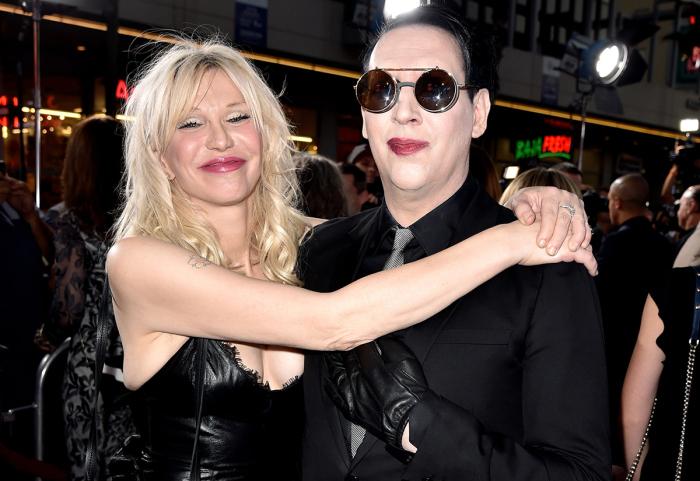 Marilyn Manson и Кортни Лав. \ Фото: shakal.today.