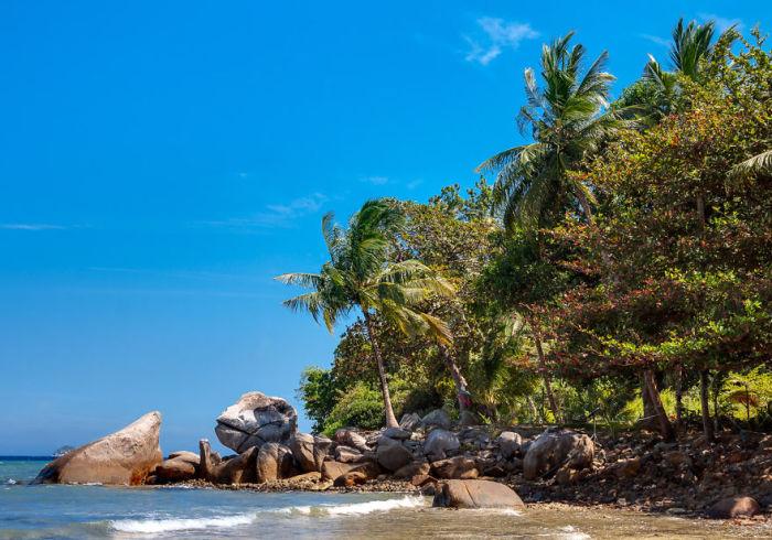 Великолепные пляжи Малайзии.