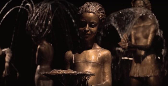 Утончённо-изысканные женские фигуры. Скульптор: Малгожата Ходаковская (Malgorzata Chodakowska).