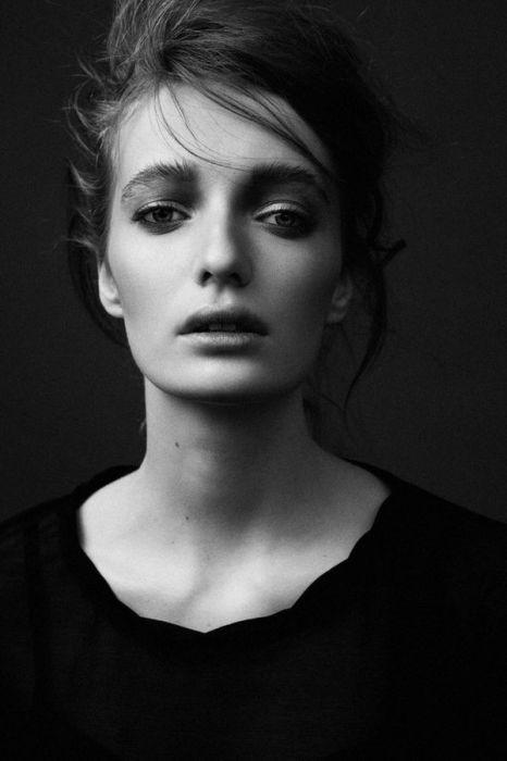 Чёрно-белый портрет. Автор фото: Марат Сафин (Marat Safin).