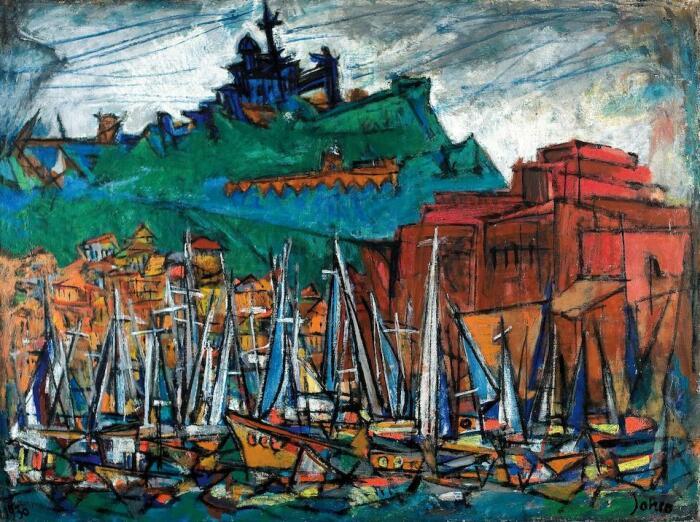 Марина, Марсель Янко, 1930 год. \ Фото: bonhams.com.