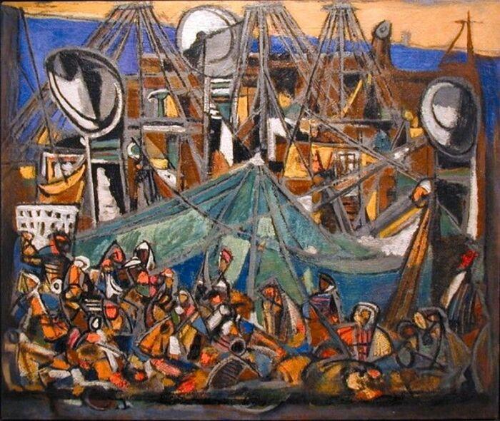 Одна из гениальных работ Марселя Янко. \ Фото: co.pinterest.com.