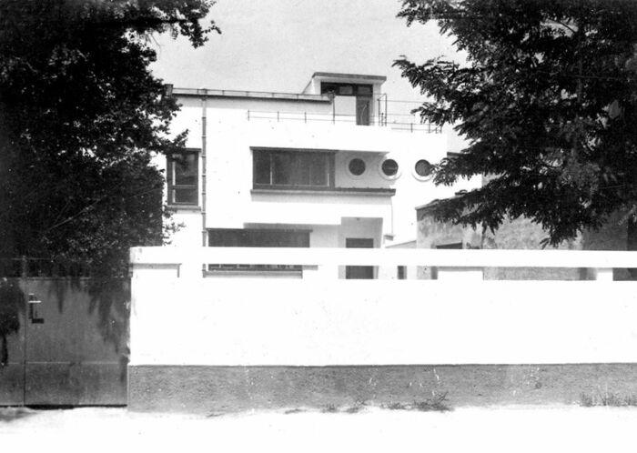Фотография виллы Фукс, спроектированной Марселем Янко, 1928 год. \ Фото: ro.pinterest.com.