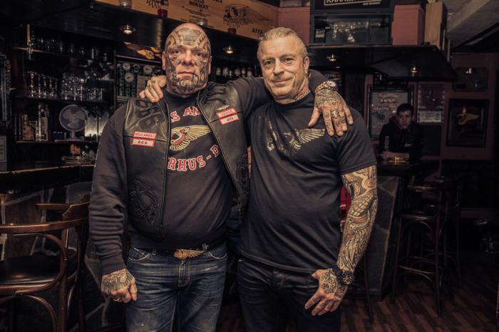 Горм и Бонни из «Ангелов Ада» в Осло. Автор фото: Marcel Lelienhof.