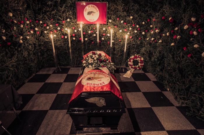 Похороны Эспена в Осло. Автор фото: Marcel Lelienhof.