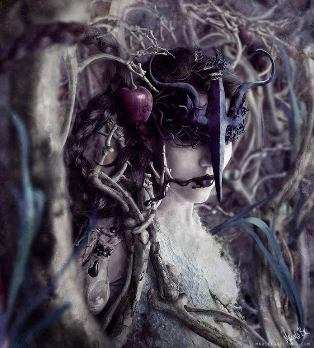 Меркурий.  Автор работ: Марсела Боливар (Marcela Bolivar).