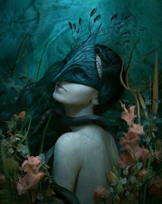 Бал-маскарад: Таинственная незнакомка. Автор: Marcela Bolivar.