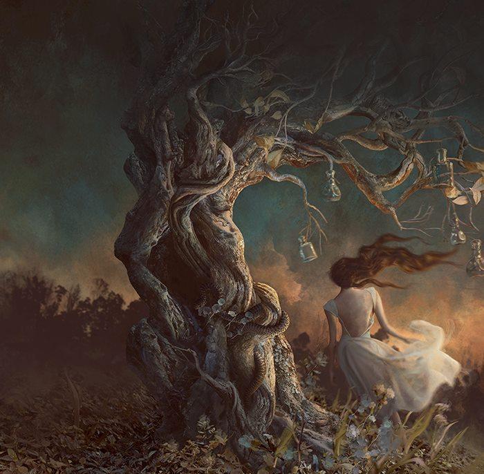 Духовное дерево. Автор: Marcela Bolivar.