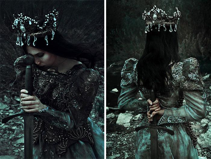 Славянские костюмы времён язычества. Автор: Marcin Nagraba.
