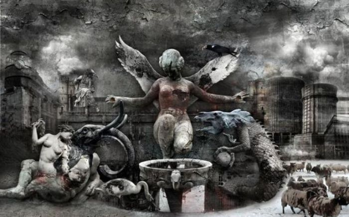 Мрачный сюрреализм в работах польского художника Марцина Овчарек (Marcin Owczarek).