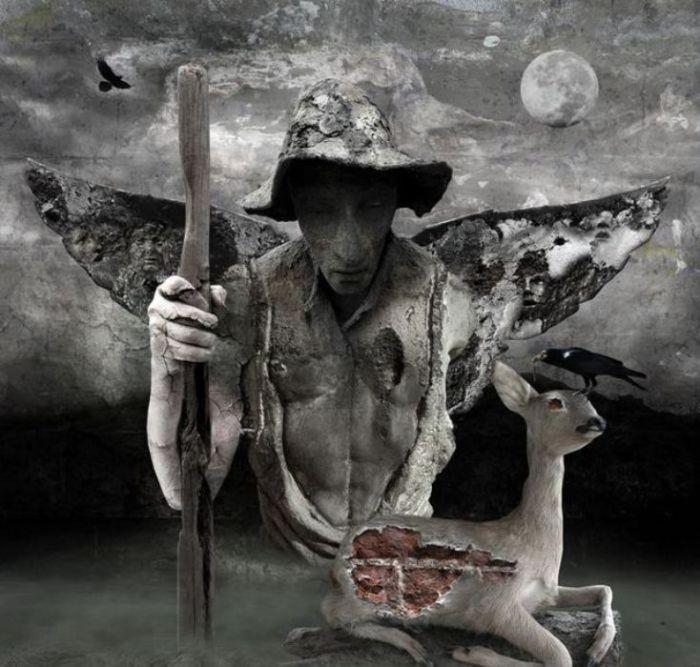 Беспощадная охота. Мрачный сюрреализм в работах польского художника Марцина Овчарек (Marcin Owczarek).