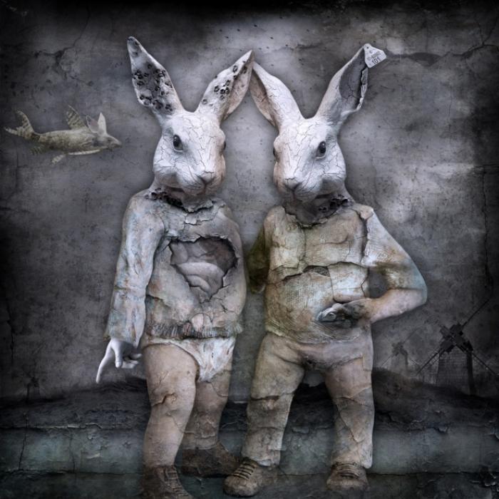 Генетическая мутация. Мрачный сюрреализм в работах польского художника Марцина Овчарек (Marcin Owczarek).