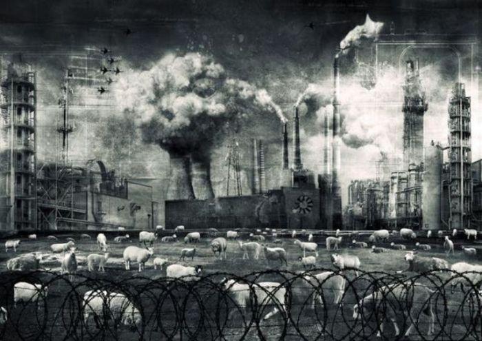Сила разрушения. Мрачный сюрреализм в работах польского художника Марцина Овчарек (Marcin Owczarek).