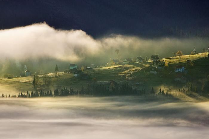 On the mountain glade. (На горной поляне). Бескиды, Польша. Фото Marcin Sobas.