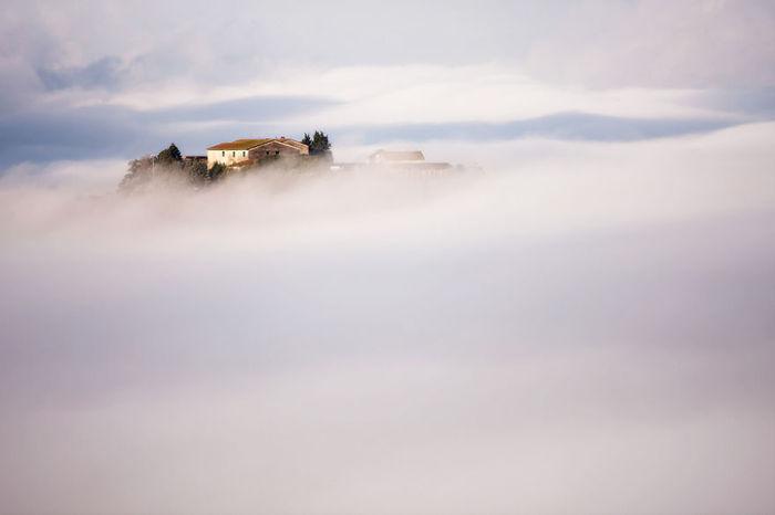 In heaven. (В небесах). Таскана, Италия. Фото Marcin Sobas.