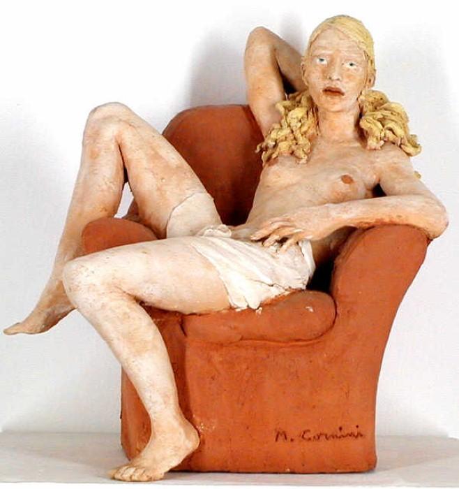 Работы современного скульптора Марко Корнини (Marco Cornini).