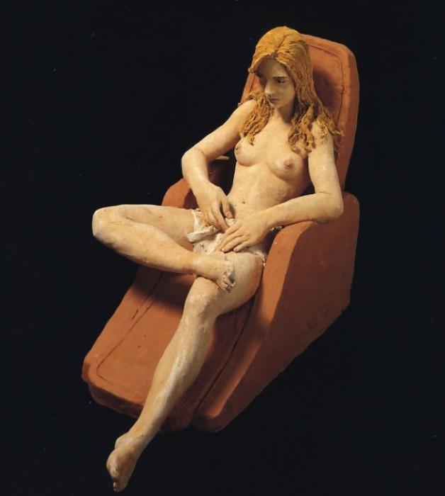 Современные Кассандры в работах скульптора Марко Корнини (Marco Cornini).