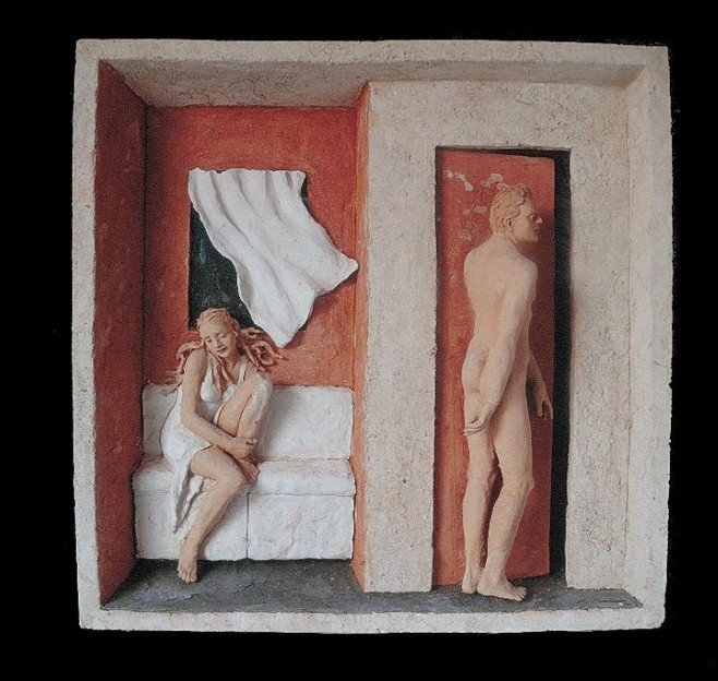 Творчество скульптора Марко Корнини (Marco Cornini).