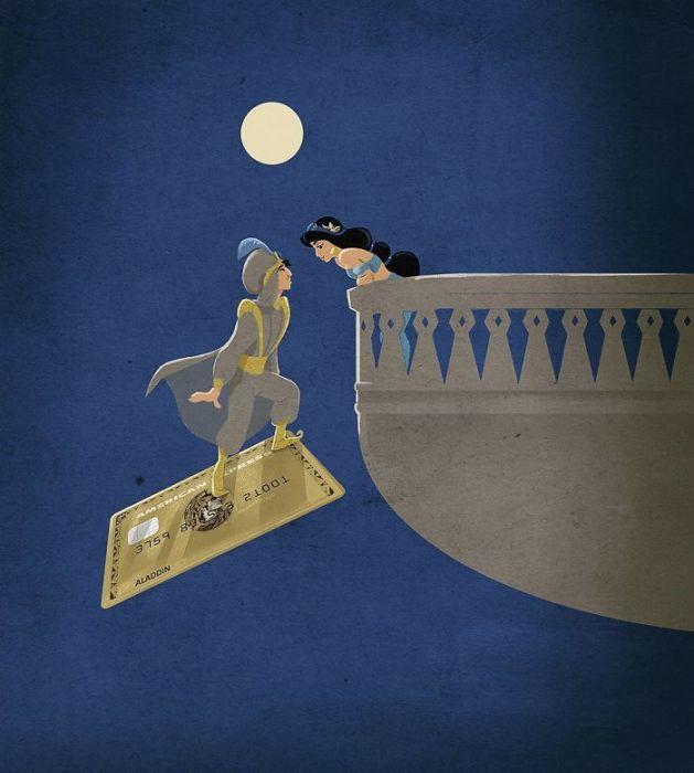 Волшебный ковёр. Автор: Marco Melgrati.