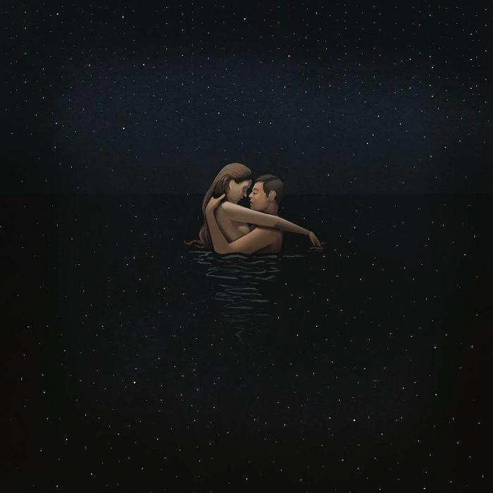 Внеземная любовь. Автор: Marco Melgrati.