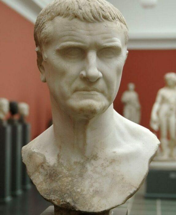 Бюст Марка Лициния Красса, 1 век н. э. \ Фото: google.com.