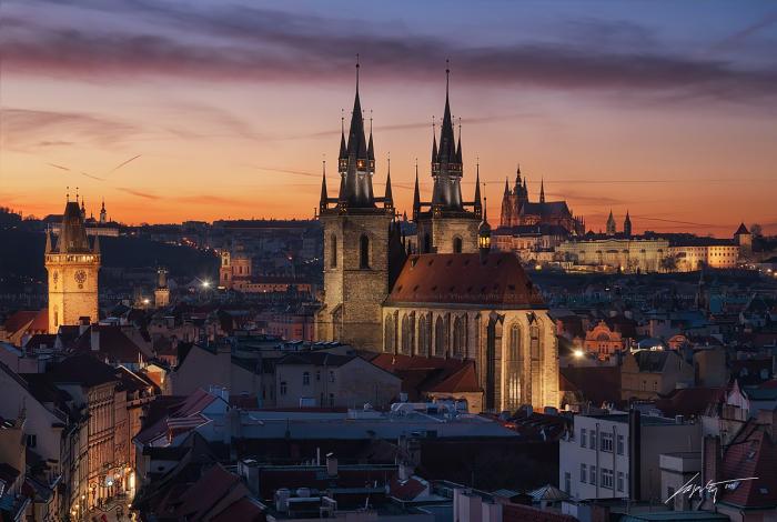Готический закат (Gothic Sunset). Автор фото: Марек Киевски (Marek Kijevsky).