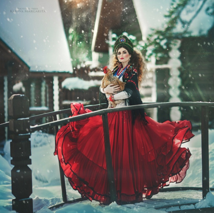 Впечатляющие работы Маргариты Каревой (Margarita Kareva).