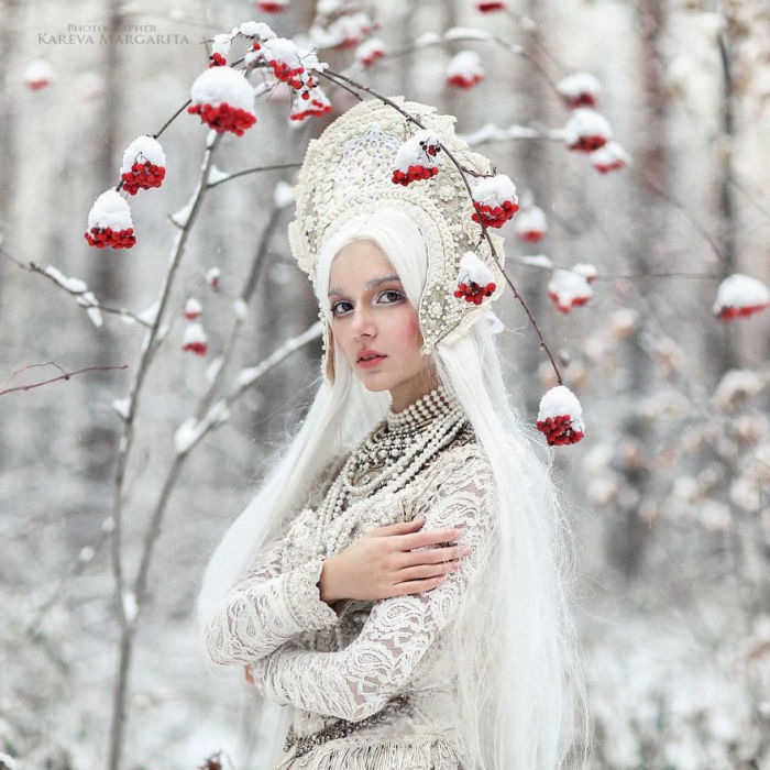 Зима. Автор: Маргарита Карева.