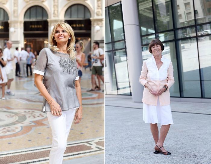 Элегантность вне возраста, или за 50 по-итальянски. При поддержке: Margon Milano.