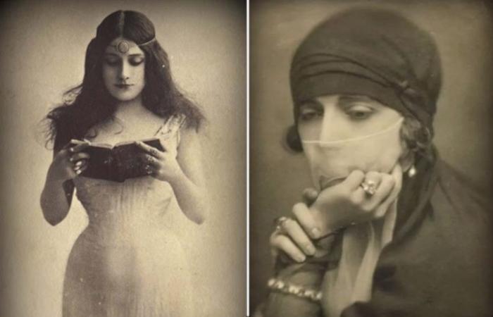 Она была замужем за египетским принцем.