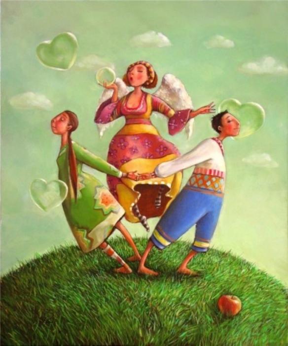 Сердца влюблённых. Автор: Мариана Калачёва.