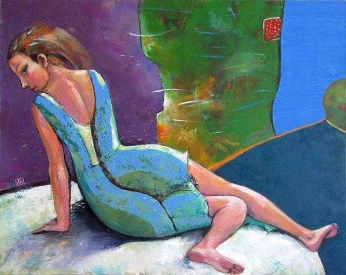 Танцовщица. Автор: Марианна Калачева.
