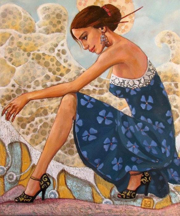 Море и танго. Автор: Марианна Калачева.