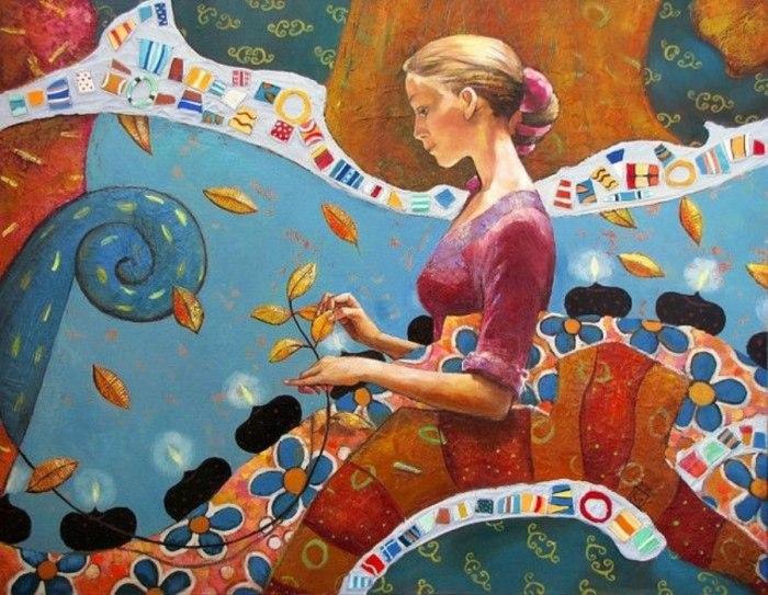 Танцы на реке. Автор: Марианна Калачева.