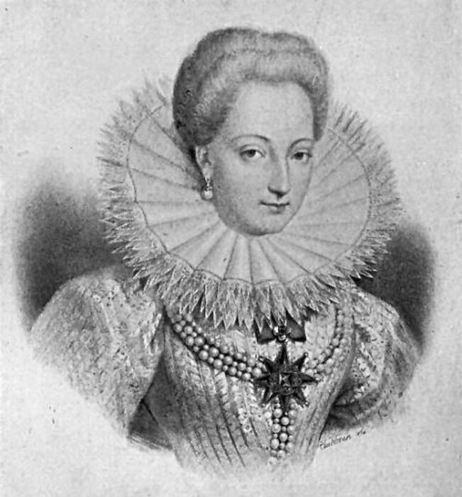 Габриэль д'Эстре - одна из фавориток Генриха IV. \ Фото: favoritesroyales.canalblog.com.