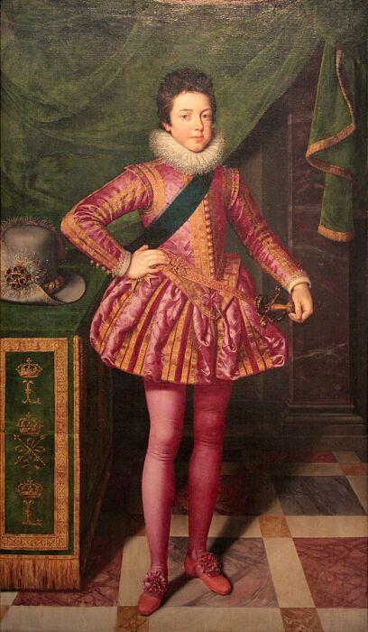 Будущий король Людовик XIII. \ Фото: it.m.wikipedia.org.