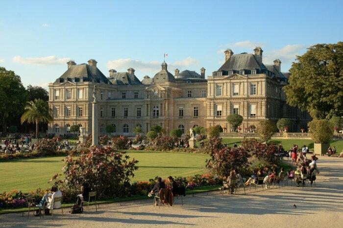 Люксембургский дворец. \ Фото: ja.wikipedia.org.