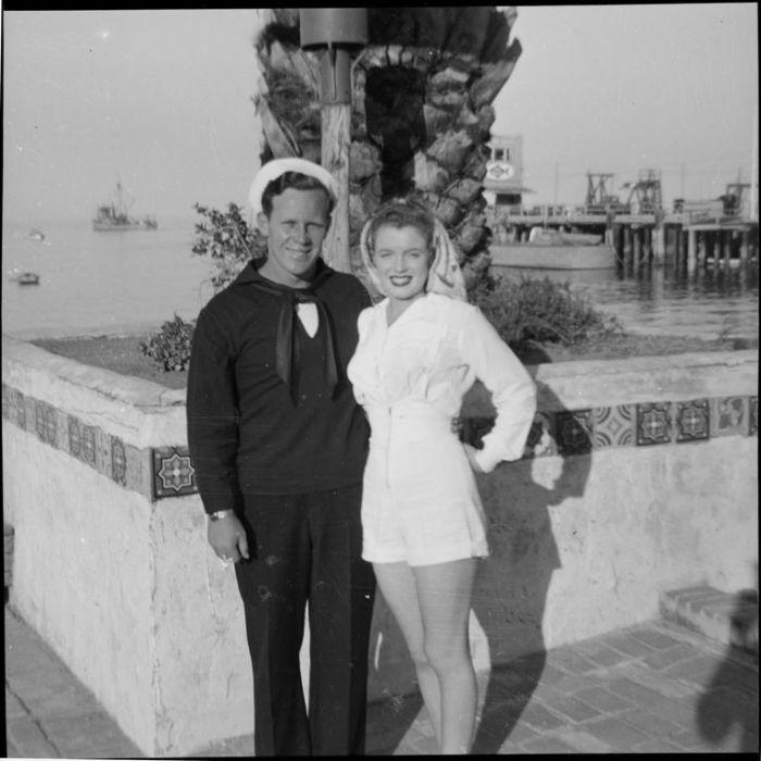 Первый брак, 1942 год. \ Фото: m-monroe.ru.