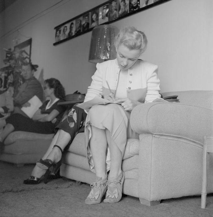 Прослушивание, 1950 год. \ Фото: lifestyle.sapo.pt.