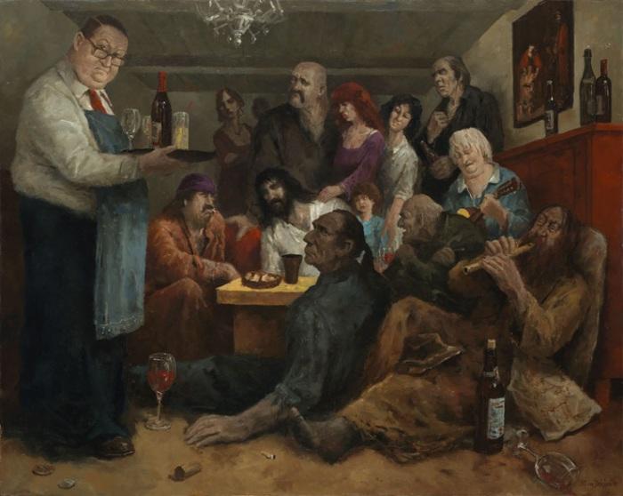 Пьянки-гулянки. Автор: Marius van Dokkum.