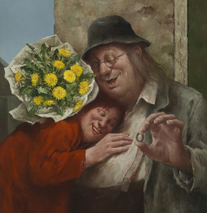 Колечко, кольцо. Автор: Marius van Dokkum.