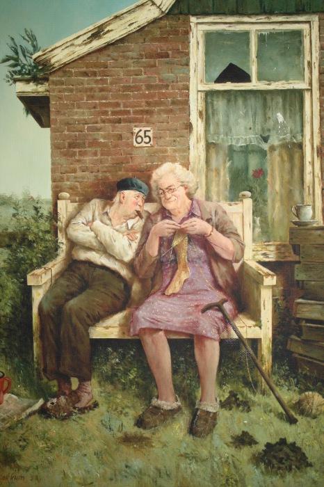 До самой старости. Автор: Marius van Dokkum.