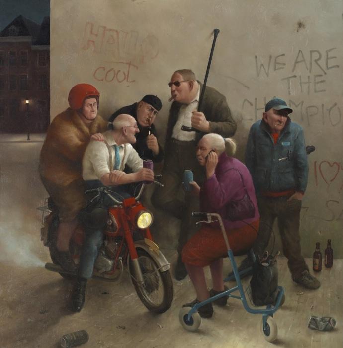 Вспоминая молодость. Автор: Marius van Dokkum.