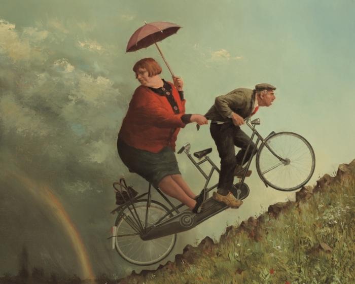 Тот самый момент, когда ради любви готов на всё. Автор: Marius van Dokkum.