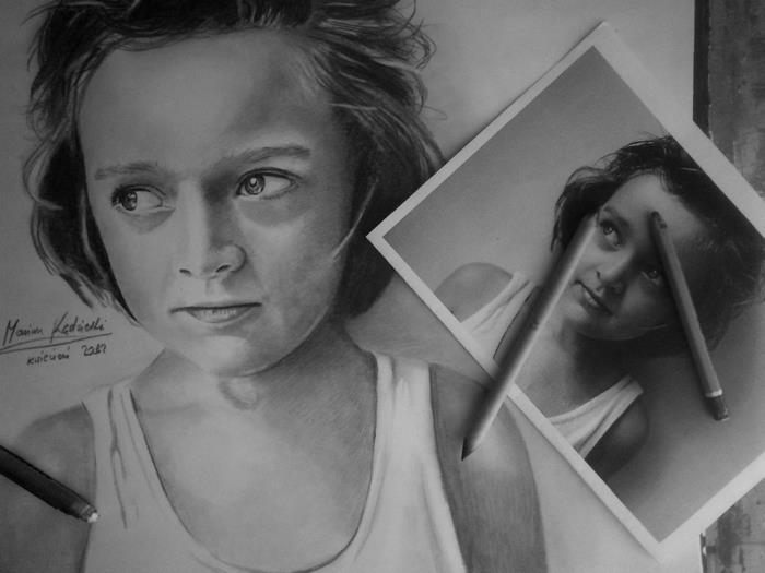 Портрет ребёнка. Автор: Mariusz Kedzierski.