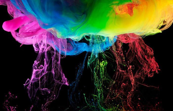 Радужные брызги. Автор: Mark Mawson.