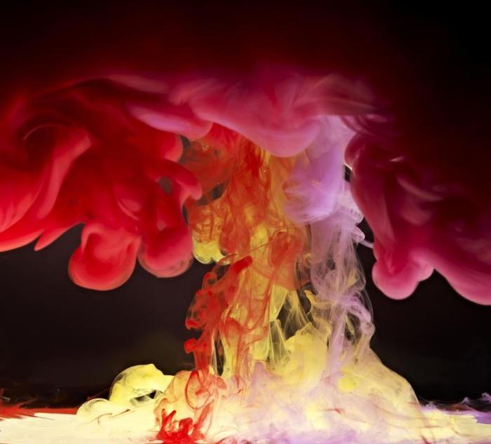 Невероятно красочный всплеск. Автор: Mark Mawson.