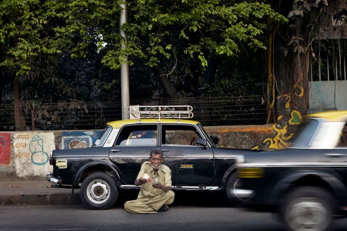 Такси в Мумбаи. Автор: Markku Lahdesmaki.